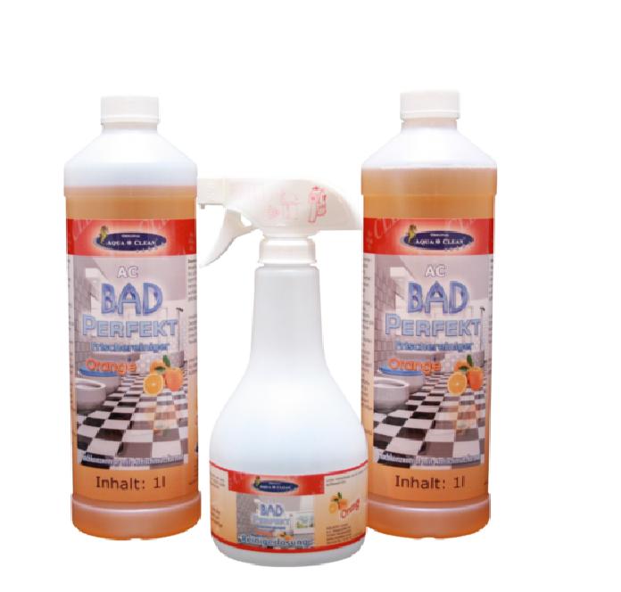 original aqua clean aqua clean bad perfekt frischereiniger 2 x 1l flasche. Black Bedroom Furniture Sets. Home Design Ideas