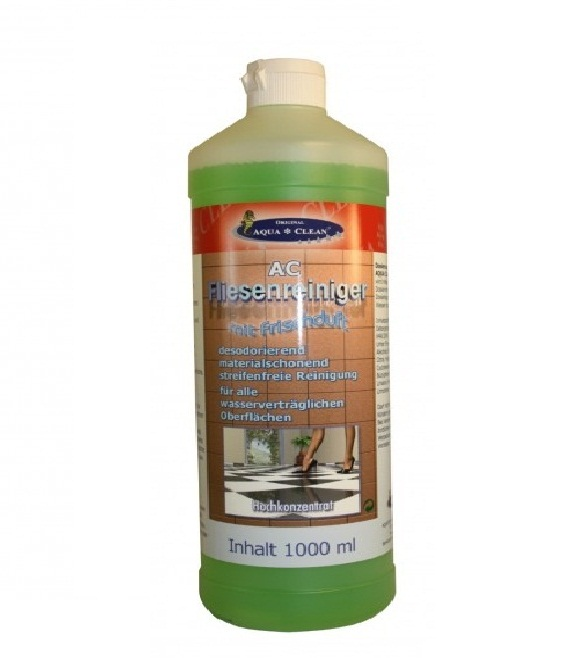 original aqua clean aqua clean fliesenreiniger 1 liter hochkonzentrat. Black Bedroom Furniture Sets. Home Design Ideas
